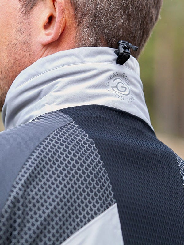 Galvin Green Action C-Knit Golf Waterproof Jacket Grey