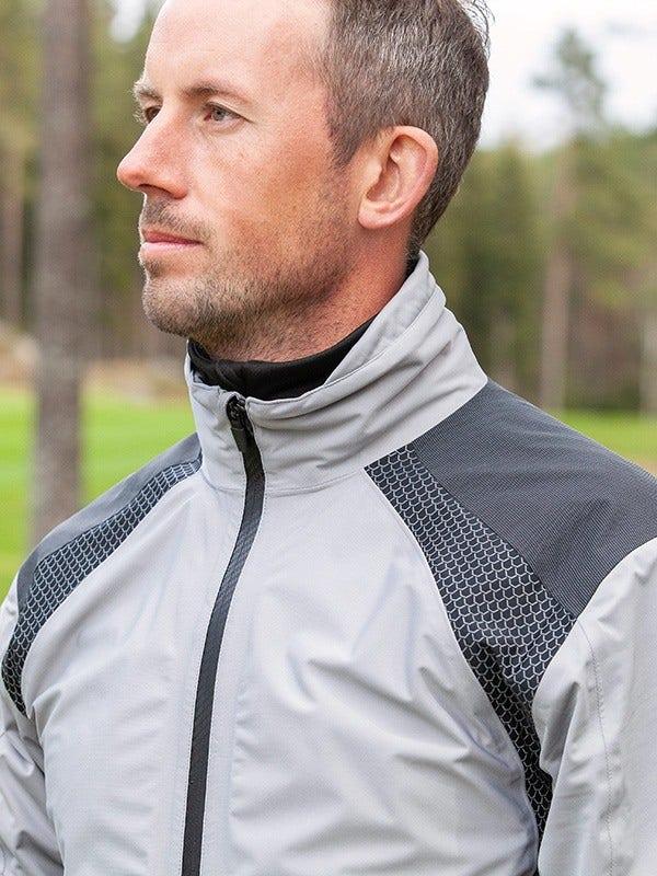 Galvin Green Action C-Knit Golf Waterproof Jacket Sharkskin