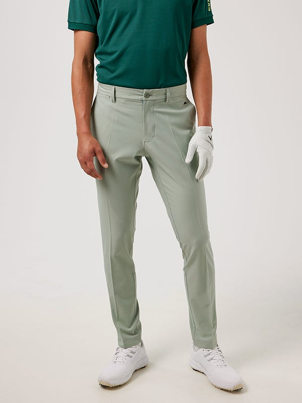 Tailored Fit Golf Trousers Iceberg Green