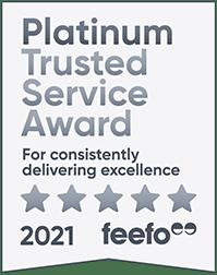 Feefo Platinum Trusted Service