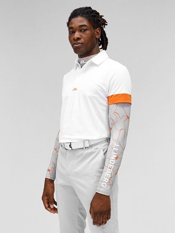 J Lindeberg Printed Base Layer Outfit Orange