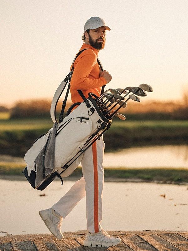 J Lindeberg Golf Apparel Lava Orange