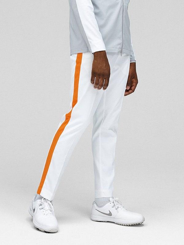 J Lindeberg Orange Side Stripe Pant