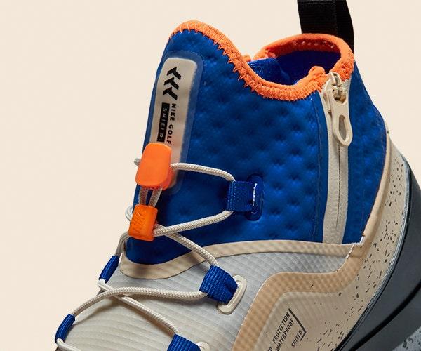 Nike Golf Shoes Winter Boot Rattan Orange Blue Black
