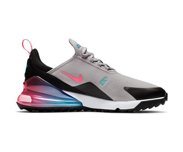 Nike Air Max 270 Golf Shoes Atmosphere Grey