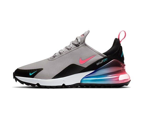 Nike Air Max 270 Golf Shoes Hot Punch