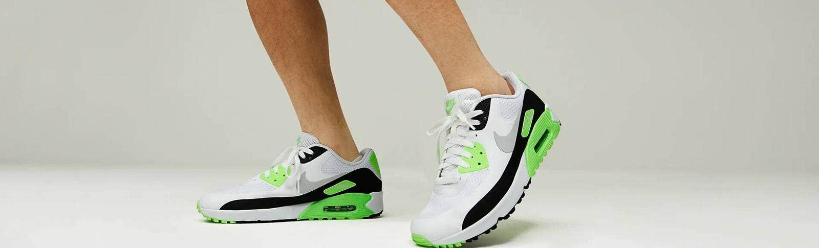 Nike Air Max 90 Golf Shoes Flash Lime