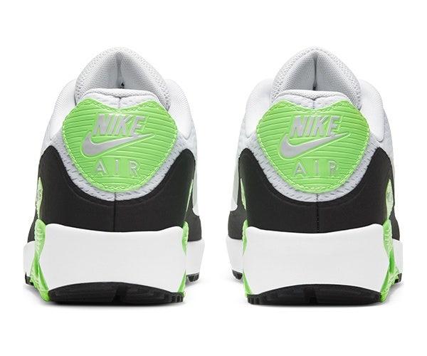 Nike Air Max 90 Golf Shoes Rear Shot