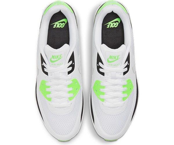 Nike Air Max 90 Golf Shoes Flash Lime Top