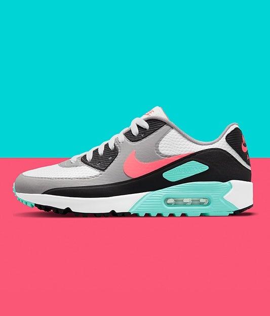 Nike Air Max 90 Golf Shoes Hot Punch