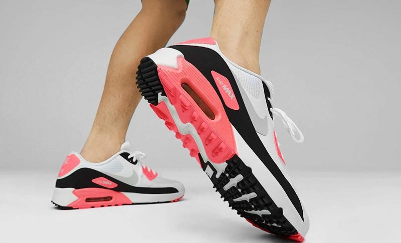 Nike Infrared Air Max 90 Golf Shoes   Where to Buy Online