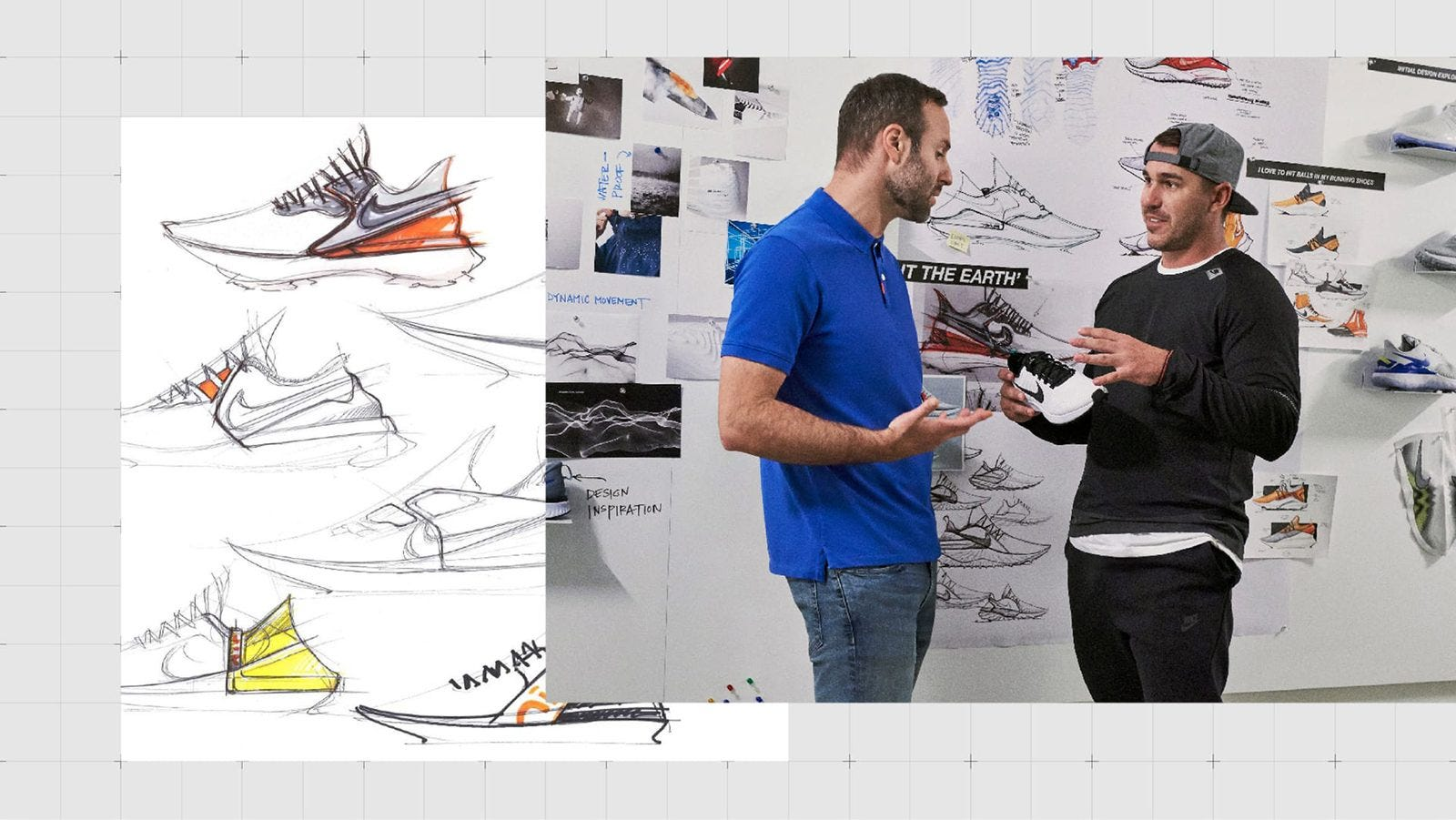 Nike Air Zoom Infinity Tour Brooks Koepka Design