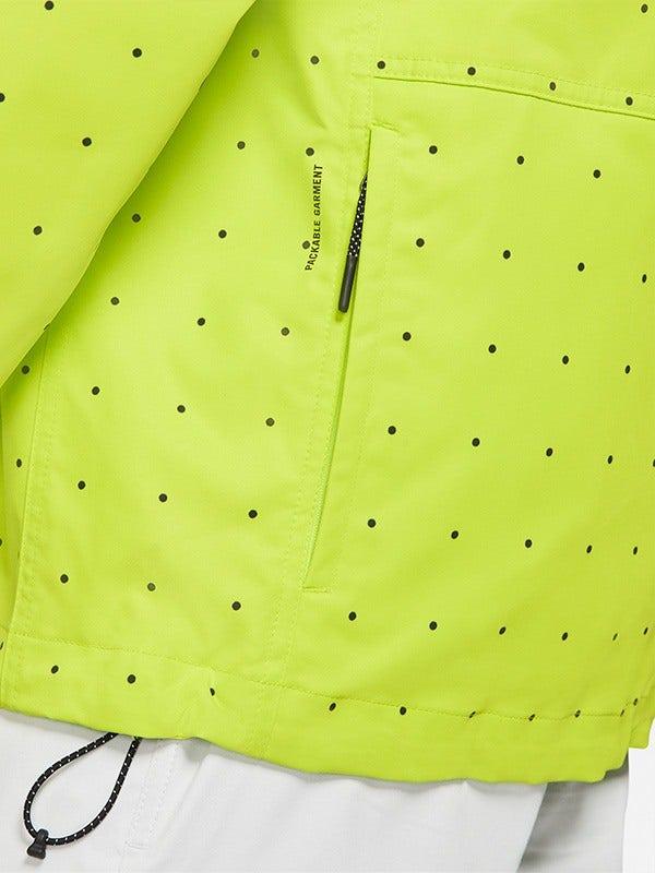 Nike Golf Repel Hoodie Space Dot Print Green
