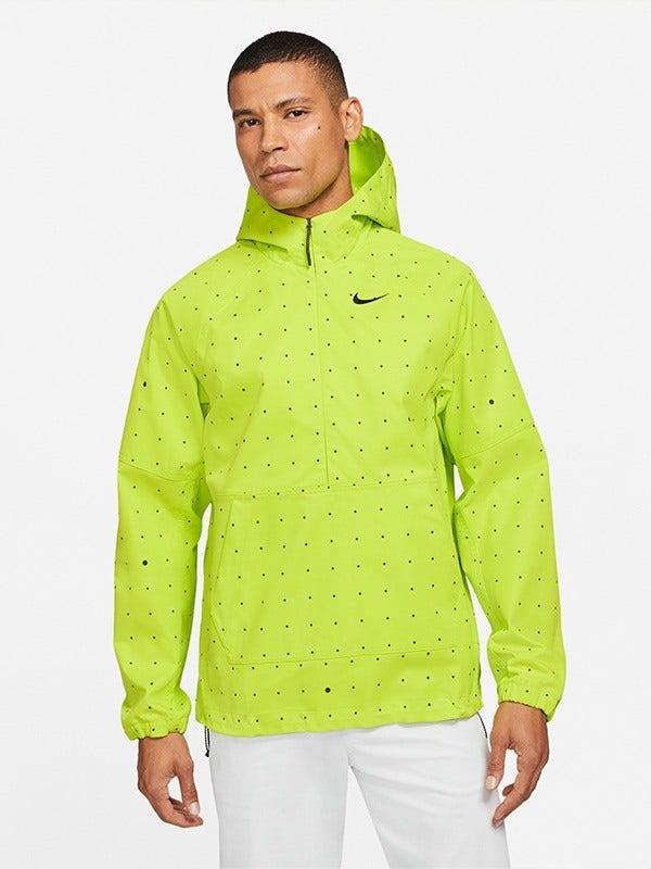 Nike Space Dot NK Repel Hoodie Cyber Green