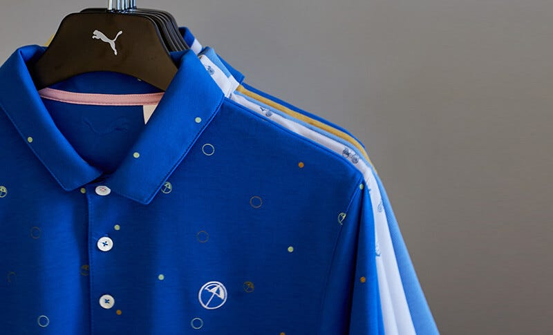 PUMA Arnold Palmer Umbrella Golf Shirts
