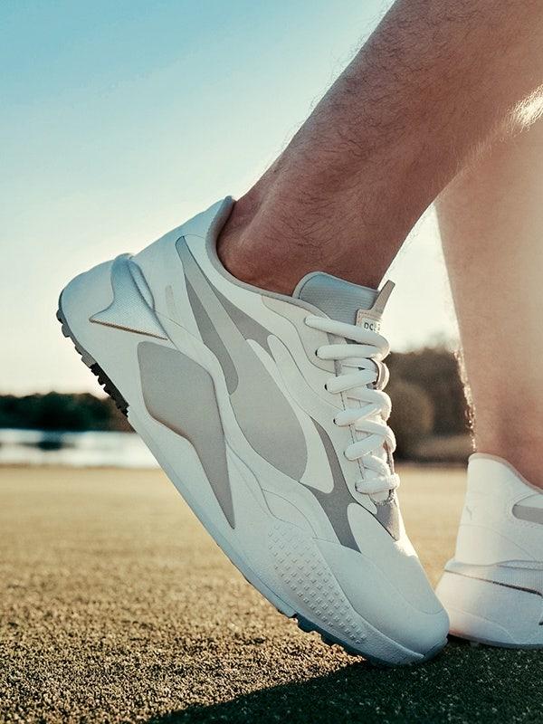 PUMA RS-G Golf Shoes White Grey