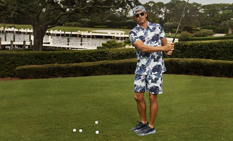PUMA RS-G Paradise Golf Shoes Rickie Fowler Honda Classic