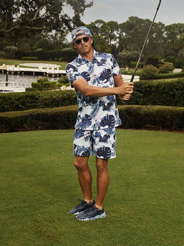 PUMA RS-G Golf Shoes Botanical Rickie Fowler Navy