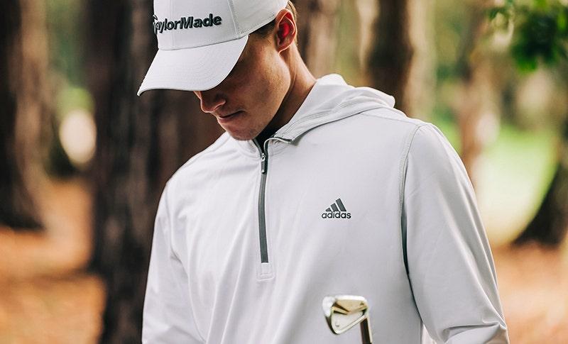 adidas Novelty Lightweight Golf Hoodie Hojgaard