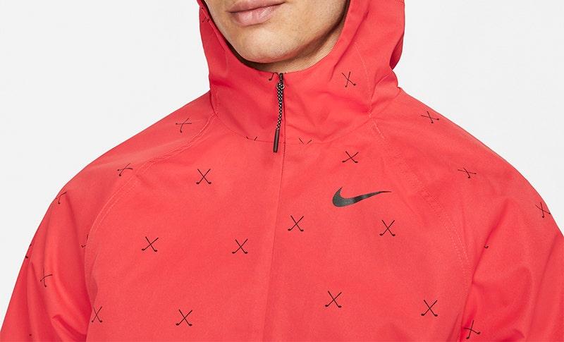 Nike Crossed Clubs Repel Hoodie Red