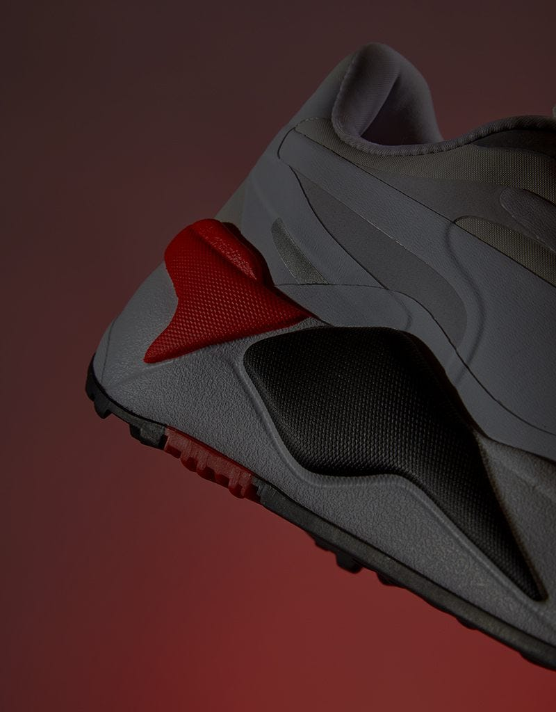 PUMA Golf RS-G Shoes Sneaker White Red