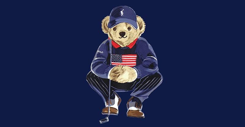 Ralph Lauren POLO Bear Logo Sweater Team USA 2021