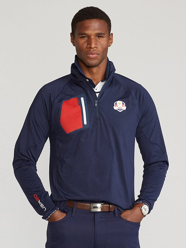 Ryder Cup Team USA Outfit Brushback Pullover Jumper