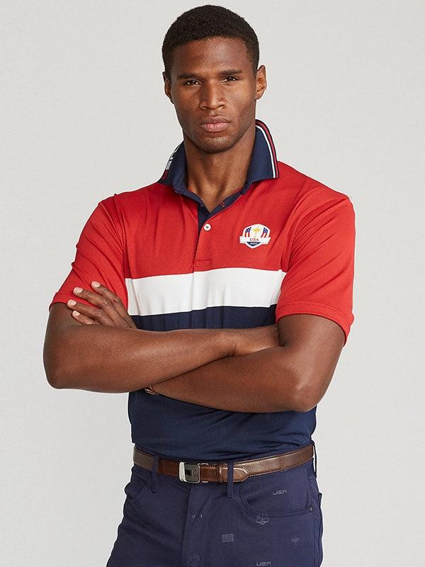 Ryder Cup Ralph Lauren Team Uniform Colour Block Shirt