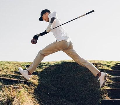 Golf Trousers J Lindeberg Slim Fit