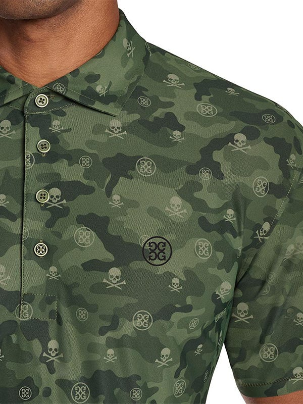 G Fore Golf Shirt Olive Camo