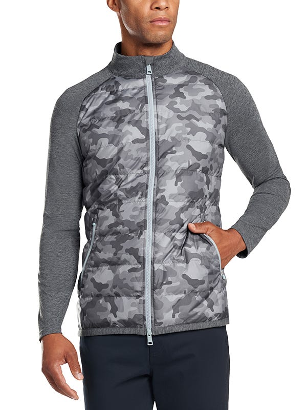 G Fore Camouflage Golf Jacket Quilted Shelby
