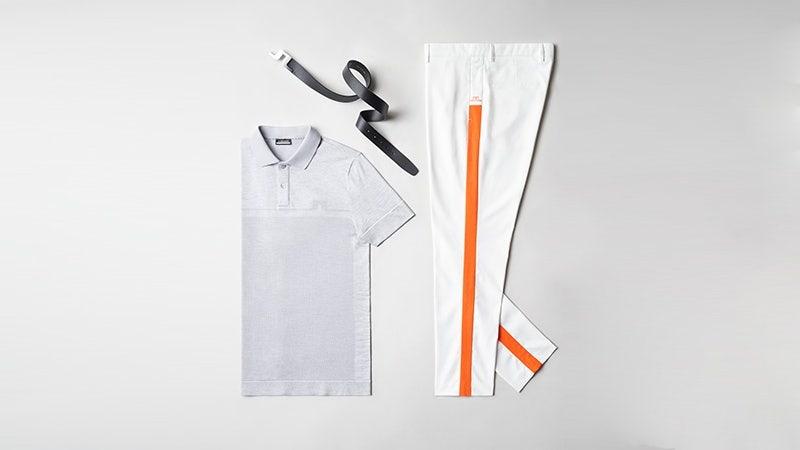 Viktor Hovland Orange Side Stripe JL Trousers