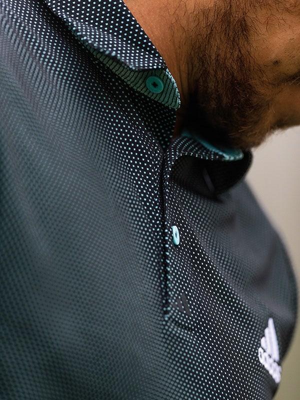 adidas EQT Two Tone Golf Shirt Black