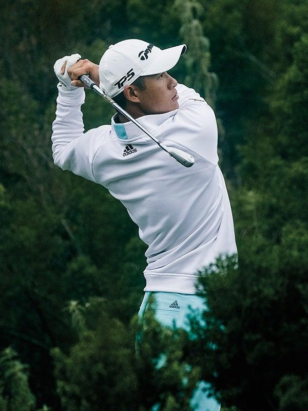 adidas EQT Golf Pullover White Collin Morikawa