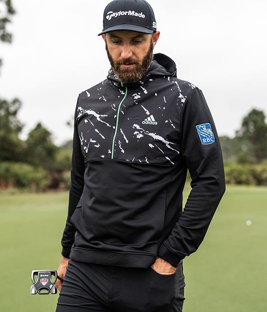 Dustin Johnson adidas Golf