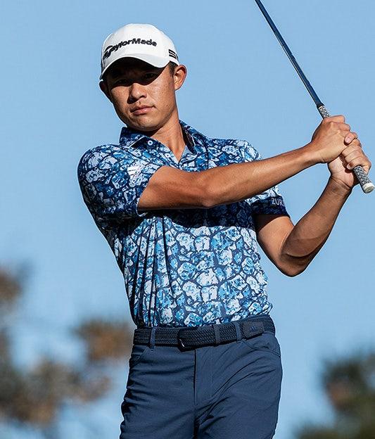 adidas Cobblestone Printed Golf Shirt