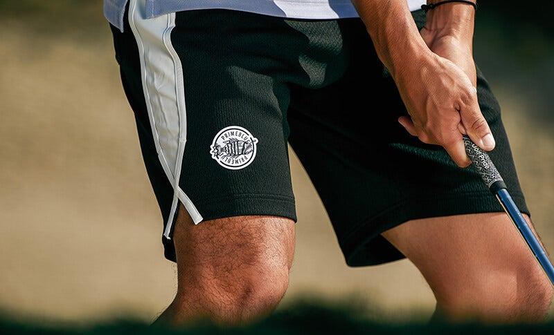 Primeblue by adidas golf Black Golf Shorts